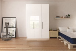 "Wardrobe 59"" with Swing Doors"