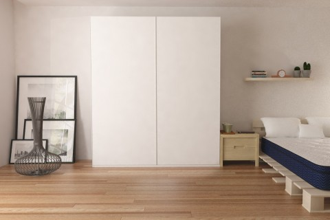 "Wardrobe 78"" with Sliding Doors"